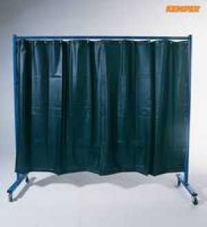 1-Panel Mobile Protection screen with Welding Strip Curtain GREE